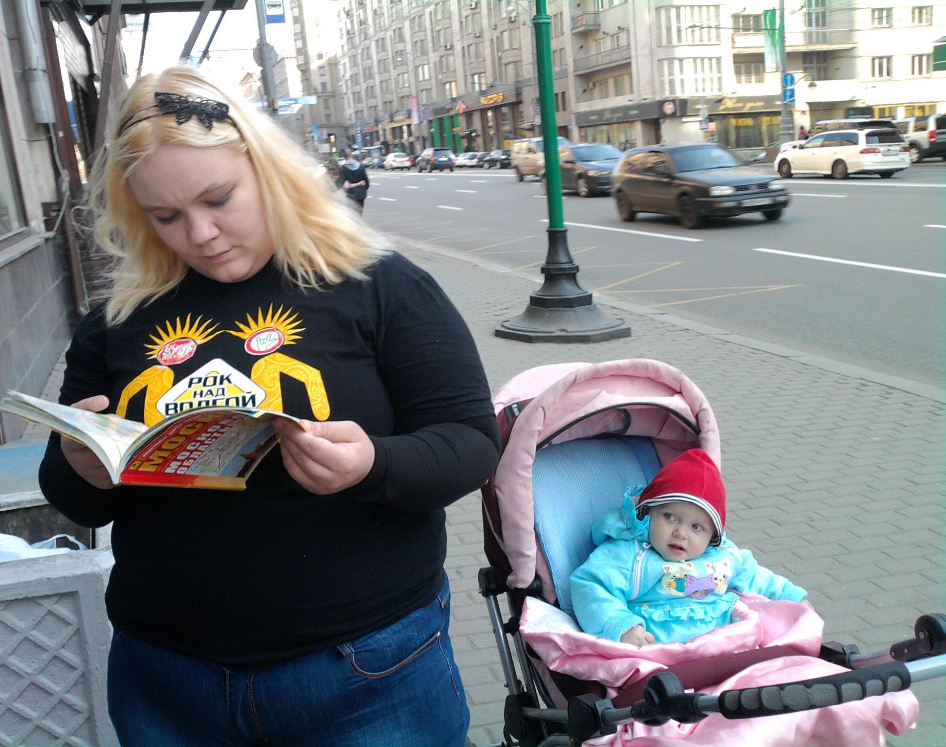 2011 04 24 Маша и Ева в Москве