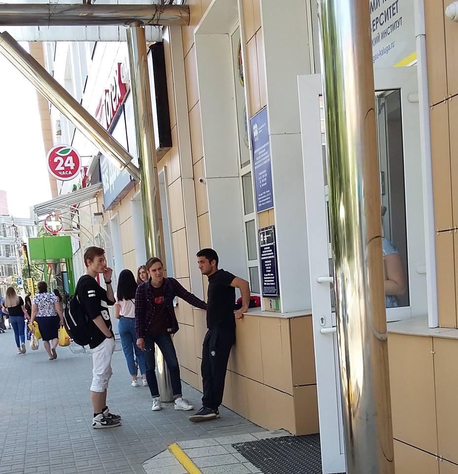 Калужские мигранты в городском интерьере-3