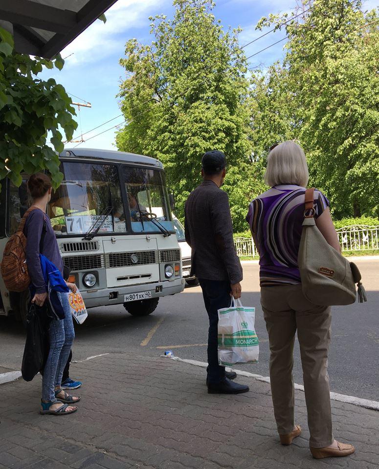 Калужские мигранты в городском интерьере